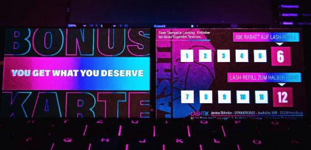 Bonuskarten von lashtik in Neon Lights